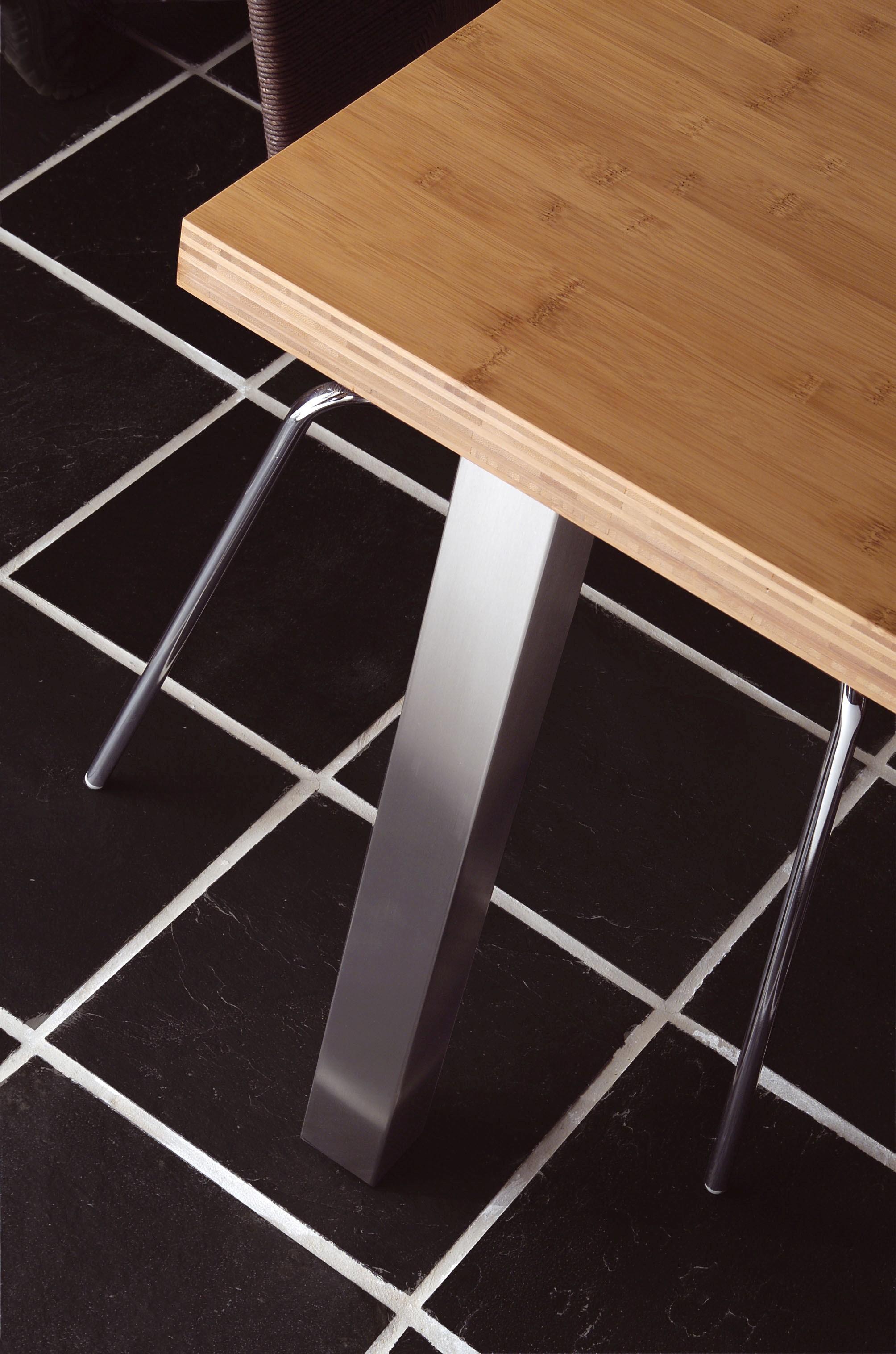 table or worktop leg table or worktop leg steel h. Black Bedroom Furniture Sets. Home Design Ideas