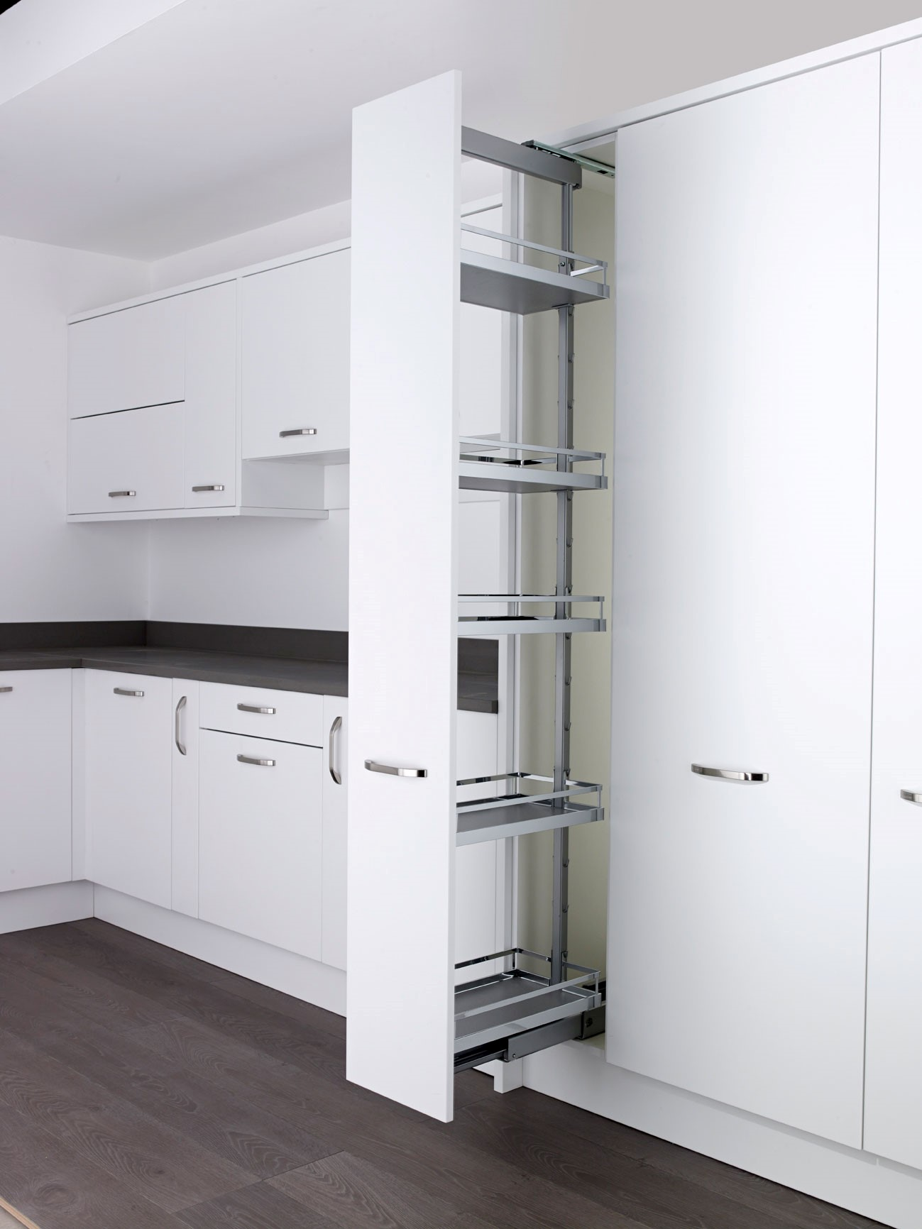 Larder Pull Out Kesseb 246 Hmer Style Larder Pull Out Full